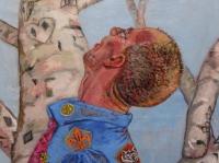 ' Boyscout '  2008  oil & tempera on canvas  150 x 200 cm