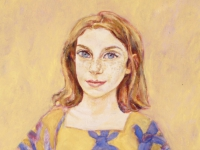 ' Margot '    1999  oil & tempera on canvas  98 x 78 cm (verkauft)
