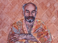 ' Peter '    1996  oil & tempera on canvas  95 x 105 cm (verkauft)