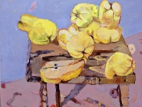 ' Quince '   2005 oil & tempera on canvas 135 x 155 cm (verkauft)